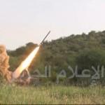 قصف صاروخي في عسير