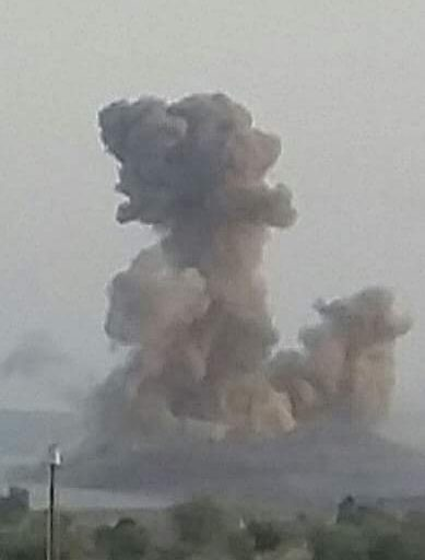 طيران العدوان يشن 29 غارة على عدد من محافظات الجمهورية