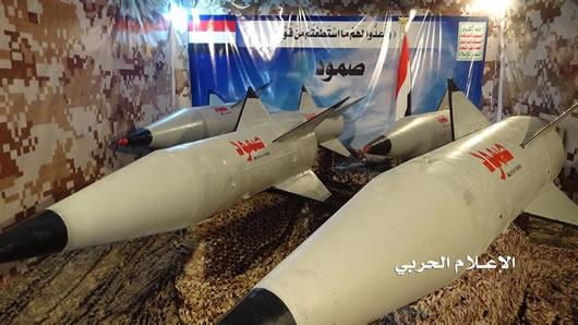 شاهد| دخول صاروخ صمود يمني الصنع خط المواجهة 29-09-2016