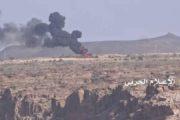 إحراق مخزن أسلحة ودك العديد من مواقع العدو السعودي في جيزان ونجران وعسير