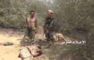 انكسار زحف لمرتزقة الجيش السعودي باتجاه صحراء ميدي ومصرع وجرح العشرات