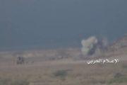 تدمير آليتين ومقتل وجرح العديد من المنافقين في قصف مدفعي على تجمعاتهم في ذباب بتعز