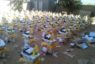 الوحدة التنفيذية بمحافظة الحديدة توزع مساعدات غذائية ومالية في عدد من المديريات
