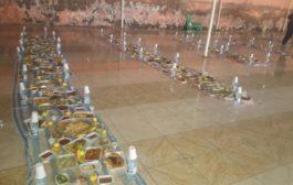 الهيئة النسائية بالحديدة تقيم مأدبة غداء لعوائل الشهداء بمناسبة الذكرى السنوية للشهيد