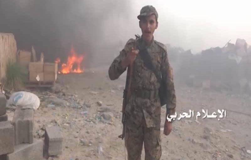 شاهد- مشاهد نوعية لخسائر الجيش السعودي عقب اقتحام موقع نشمة في الربوعة