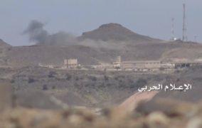 انكسار زحف لمرتزقة الجيش السعودي في منفذ علب وتدمير آليتين أثناء التصدي