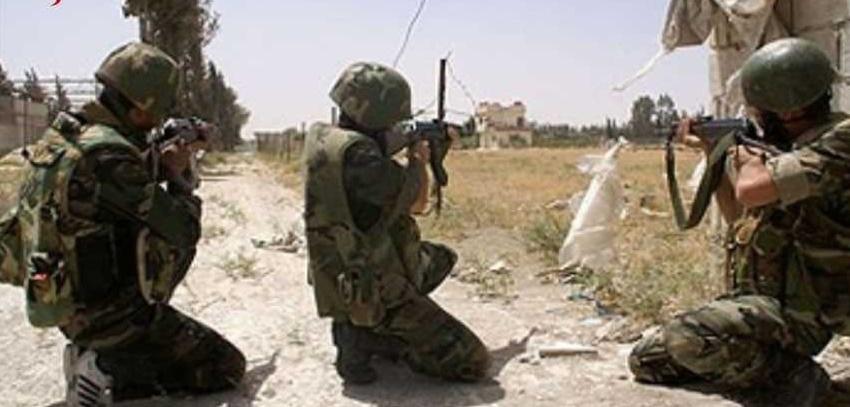 مصدر عسكري سوري :عملية إنزال جوي ليلي بعمق 20 كم خلف خطوط تنظيم داعش والتقدم في عمق البادية