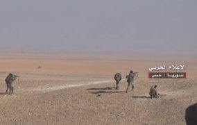 هجوم واسع للجيش السوري وحلفائه ضد داعش من القلمون الشرقي حتى جنوب تدمر