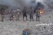 عمليتان هجوميتان للجيش واللجان على مواقع لمرتزقة العدوان في الجوف وتعز