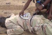 شاهد- الخسائر الكبرى للغزاة والمرتزقة شمال صحراء ميدي 22-05-2017م