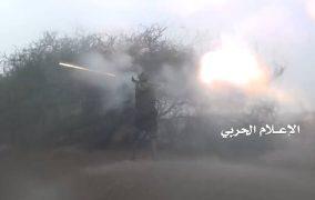 استهداف جرافة ودك مواقع الجيش السعودي في جيزان وعسير
