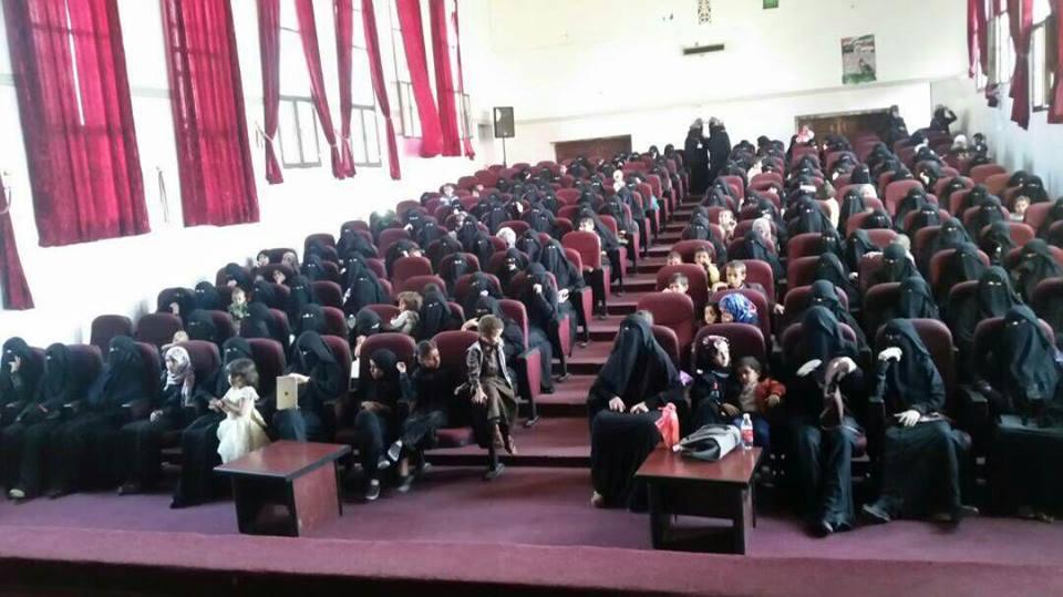 الهيئة النسائية في ذمار تحيي ذكرى استشهاد الإمام زيد عليه السلام