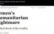 فورين افيرز: تداعيات الكابوس الإنساني في اليمن