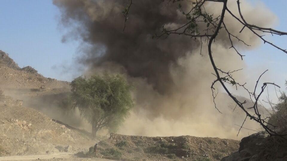إصابة طفل في غارات لطيران العدوان على مديرية صعفان بصنعاء