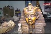شاهد | العثور على قطع أثرية وشواهد تاريخية في قصر مهدي مقولة المقرب من زعيم ميليشيا الخيانة