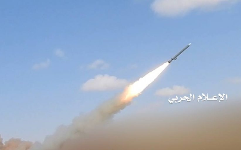 شاهد || لحظة إطلاق صاروخ مجنح من نوع كروز على مفاعل براكة النووي في أبوظبي