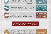 أنصار الله يرصد جزءاً من خسائر المعتدين خلال2017م