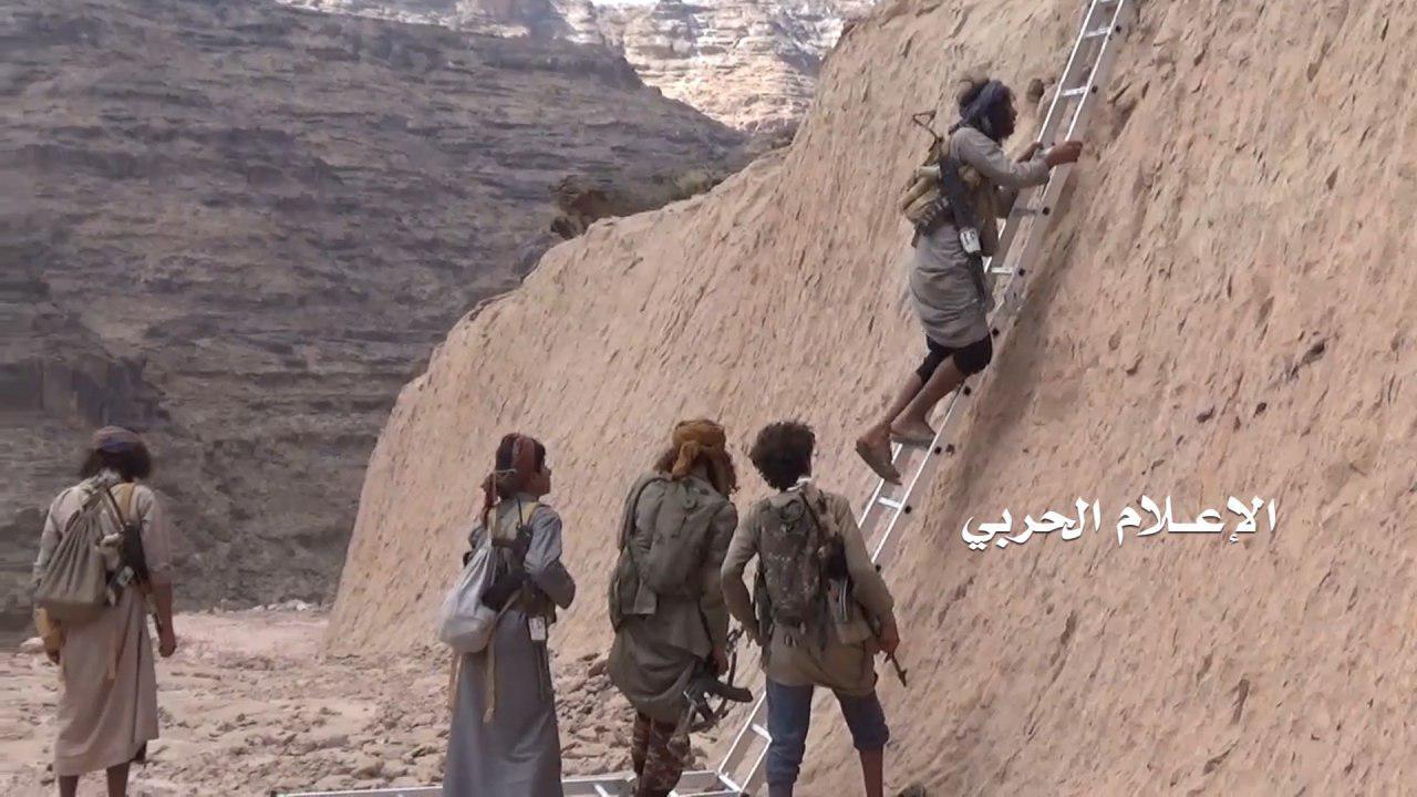 الجيش واللجان يسيطرون على موقع الضبعة في نجران ويغيرون على موقع الشبكة في جيزان(فيديو)