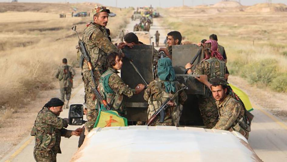 أكراد عفرين يستنجدون بالجيش السوري