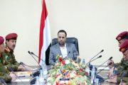 الرئيس الصماد يلتقي رئيس وأعضاء دائرة التعبئة العامة بوزارة الدفاع
