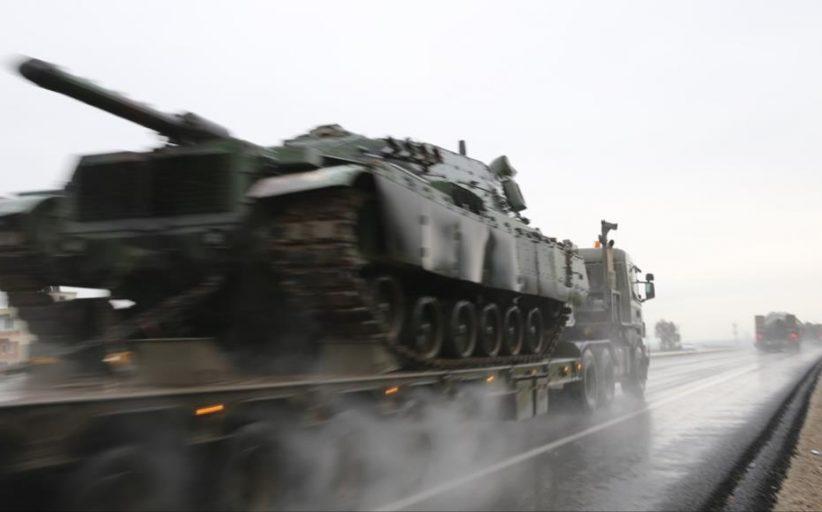 الجيش التركي يرسل تعزيزات جديدة صوب عفرين