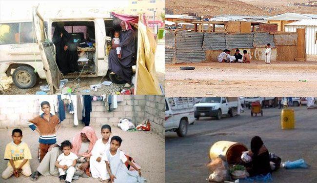 انتشار التسول في السعودية من أهم انجازات آل سعود
