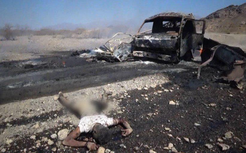تحالف العدوان يعترف بقصف شاحنة مساعدات في صعدة