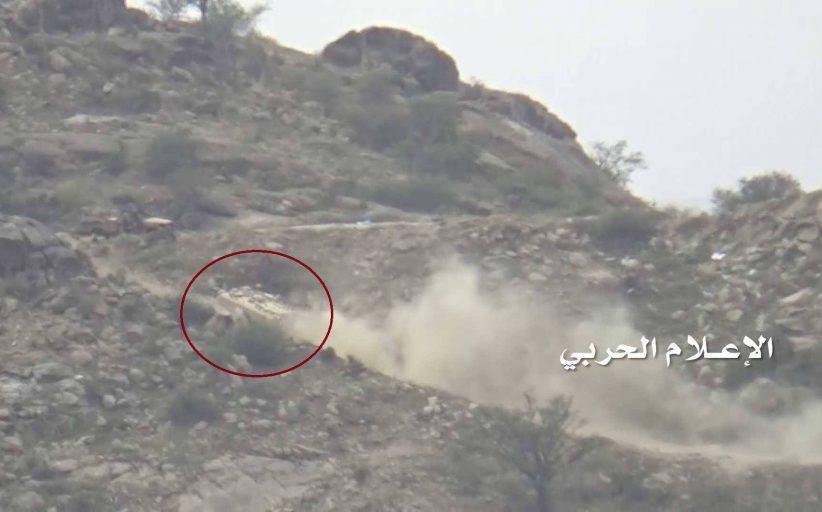 تدمير آليتين وقنص 6 من جنود العدو السعودي في جيزان ونجران