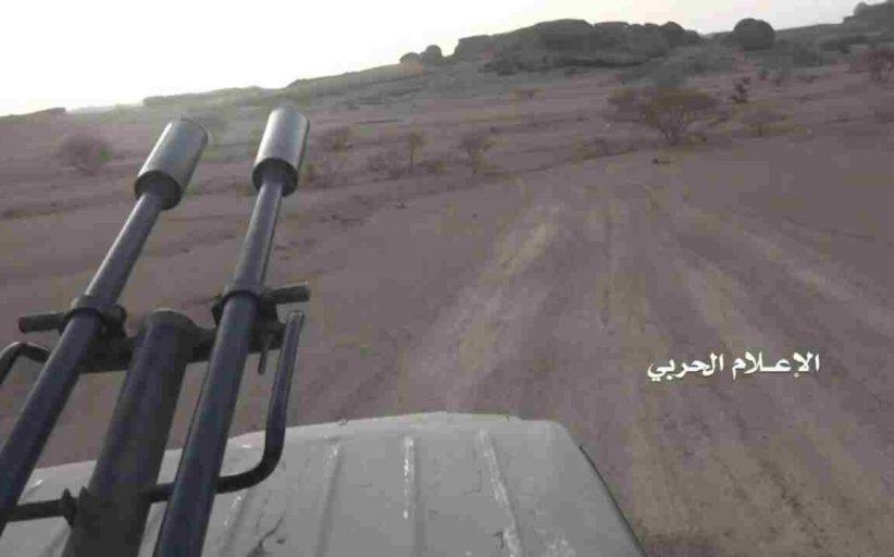 الإعلام الحربي يوزع مشاهد لاقتحام مواقع مرتزقة العدوان في جبهة الخليفين بالجوف (صور + فيديو)