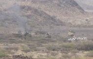 مشاهد لانكسار قوى العدوان شمال وشرق معسكر خالد في موزع بتعز (صور+ فيديو)