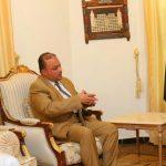 الرئيس المشاط يلتقي نائب رئيس الوزراء وزير المالية