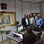 وزيرالإعلام يطلع على سير العمل في إذاعة صنعاء1