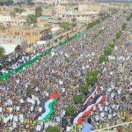 مسيرة بالعاصمة صنعاء هي الأكبر بالمنطقة إحياءً ليوم القدس العالمي ورفضا لصفقة ترامب14