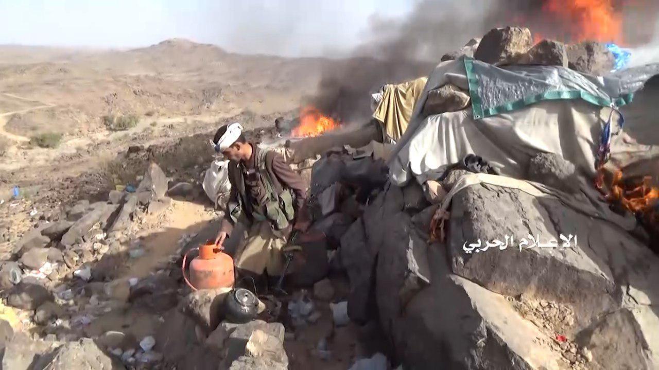 تطهير سلسلة جبلية قبالة السديس في نجران
