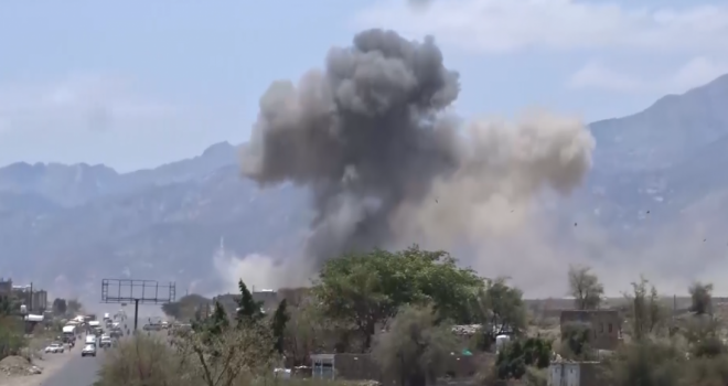 The aggression jets launch 12 airstrikes on al-Jawf