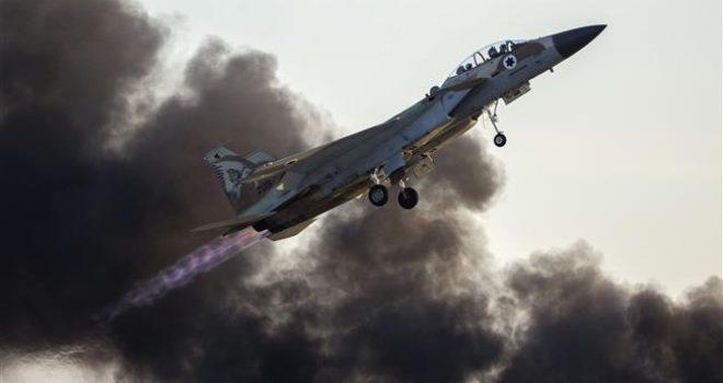 Zionist warplanes bomb northern Gaza