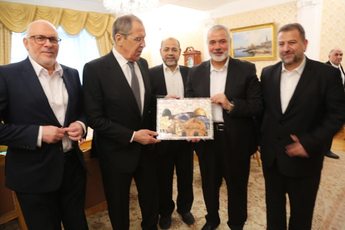 Hamas delegation meets with Russian Foreign Minister | أنصار الله