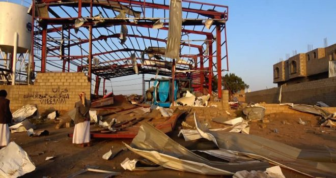 Humanitarian Affairs Council condemns hitting warehouse of relief materials in Saada
