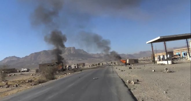 28 Air strikes on Marib ,Al-Jawf, and 92 breaches recorded in Hodeidah