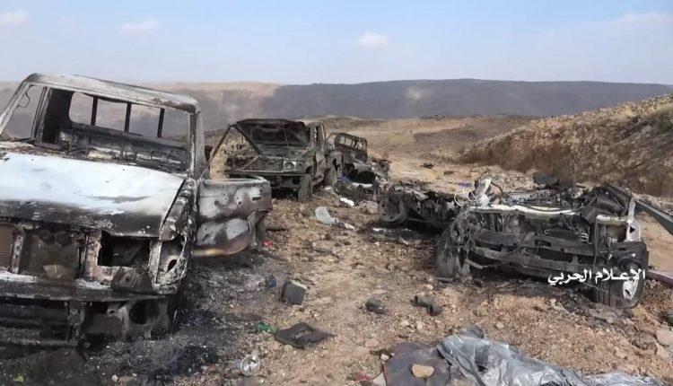 مشاهد تطهير مديريتي ناطع ونعمان في البيضاء المرحلة الثانية من النصر المبين