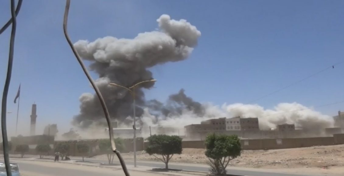 Air Raids Of The Aggression On Marib, More Than 300 Violations Recorded In Hodeidah