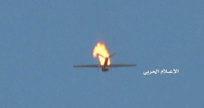 Air defenses down an American spy plane over Marib